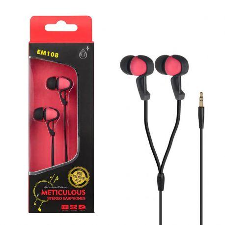 Auriculares de botón In Ear Intrauriculares One Plus EM108