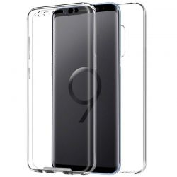 Funda silicona Doble Frontal y Trasera 360 para Samsung Galaxy S9 Plus
