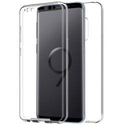 Funda silicona Doble Frontal y Trasera 360 para Samsung Galaxy S9 Plus