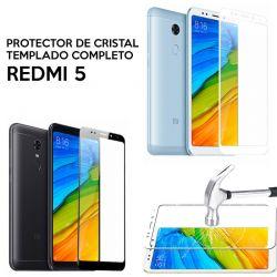 Protector pantalla de Cristal Templado Completo - Xiaomi Redmi 5