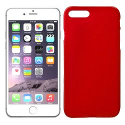 Funda de TPU Mate Lisa para iPhone 7 Plus / iPhone 8 Plus Silicona Rojo