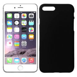 Funda de TPU Mate Lisa para iPhone 7 Plus / iPhone 8 Plus Silicona Negro
