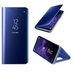 Funda de Espejo Azul Clear View con soporte - Samsung Galaxy S9