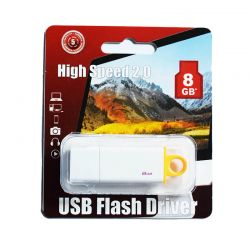 Pendrive Bywox Memoria USB con capacidad de 8GB Blanco