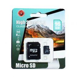 Tarjeta de Memoria Micro SD 16GB Bywox Clase 10 + Adaptador SD