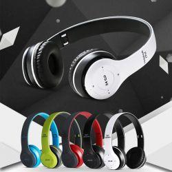 Auriculares de diadema P47 Bluetooth con Radio, MP3 y Manos Libres