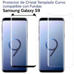 Protector pantalla Cristal Templado Completo Curvo Samsung Galaxy S9
