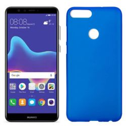 Funda de TPU Mate Lisa para Huawei Y9 2018 Silicona Azul