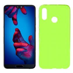 Funda de TPU Mate Lisa para Huawei P20 Lite Silicona Verde