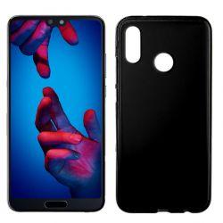 Funda de TPU Mate Lisa para Huawei P20 Lite Silicona Negro