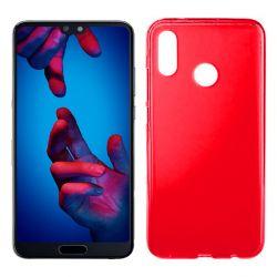 Funda de TPU Mate Lisa para Huawei P20 Lite Silicona Rojo