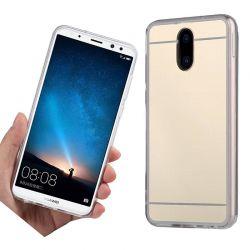 Funda Mirror Gel TPU efecto Espejo Huawei Mate 10 Lite Dorado