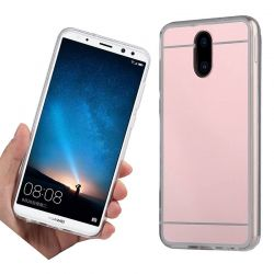 Funda Mirror Gel TPU efecto Espejo Huawei Mate 10 Lite Rosa