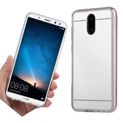Funda Mirror Gel TPU efecto Espejo Huawei Mate 10 Lite Plata