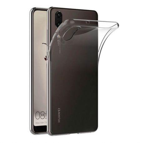 Funda de TPU Silicona Transparente para Huawei P20