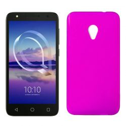 Funda de TPU Mate Lisa para Alcatel U5 4G Silicona flexible Rosa