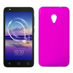 Funda de TPU Mate Lisa para Alcatel U5 4G Silicona flexible Rosa