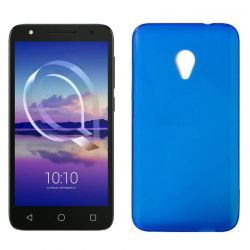 Funda de TPU Mate Lisa para Alcatel U5 4G Silicona flexible Azul
