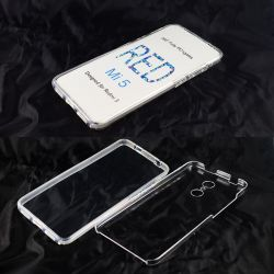 Funda TPU Doble 360 Frontal Trasera Sin Puntos - Xiaomi Redmi 5