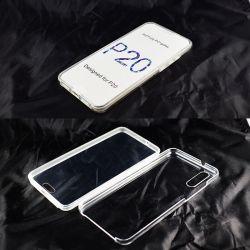 Funda TPU Doble 360 Frontal Trasera Sin Puntos para Huawei P20