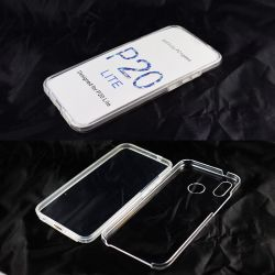 Funda TPU Doble 360 Frontal Trasera Sin Puntos para Huawei P20 Lite