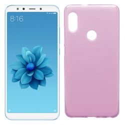 Funda de TPU Mate Lisa para Xiaomi Mi 6X / Mi A2 Silicona Flexible Rosa