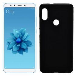 Funda de TPU Mate Lisa para Xiaomi Mi 6X / Mi A2 Silicona Flexible Negro