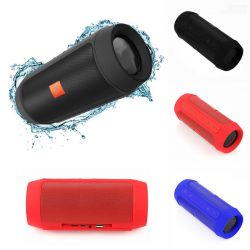 Altavoz Bluetooth Tubular Charge 2+ con Ranura Micro SD, USB y Aux