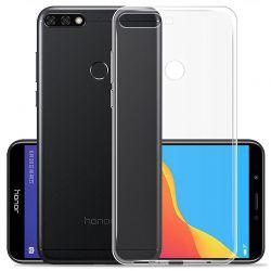 Funda de TPU Silicona Transparente para Huawei Y7 2018