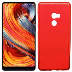 Funda TPU Mate Lisa para Xiaomi Mi Mix 2 Silicona flexible Rojo