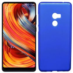 Funda TPU Mate Lisa para Xiaomi Mi Mix 2 Silicona flexible Azul