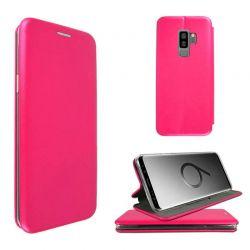 Funda de libro Elegance cierre magnético - Samsung Galaxy S9 Plus Rosa