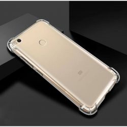 Funda Transparente Silicona Reforzada para Xiaomi Redmi Note 5A Prime