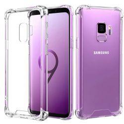 Funda Transparente esquinas reforzadas de Silicona - Samsung Galaxy S9