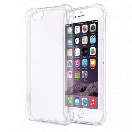 e5104374f791 Funda Transparente esquinas reforzadas de Silicona - iPhone 6 / 6S