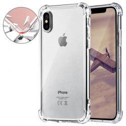 Funda transparente con esquinas reforzadas de silicona - iPhone X