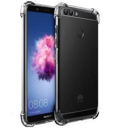 Funda transparente esquinas reforzadas de silicona - Huawei P Smart