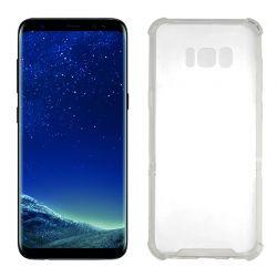 Funda Transparente Silicona cantos reforzados - Samsung Galaxy S8 Plus