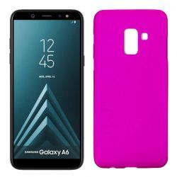 Funda TPU Mate Lisa Samsung Galaxy A6 Silicona Flexible Rosa