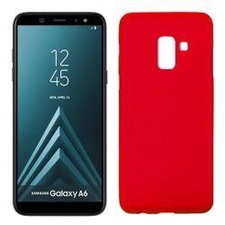 Funda TPU Mate Lisa Samsung Galaxy A6 Silicona Flexible Rojo