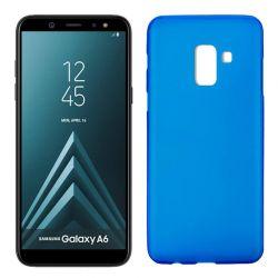 Funda TPU Mate Lisa Samsung Galaxy A6 Silicona Flexible Azul