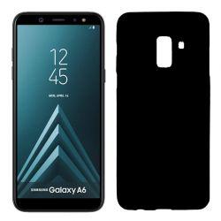 Funda TPU Mate Lisa Samsung Galaxy A6 Silicona Flexible Negro