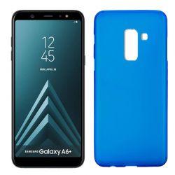 Funda TPU Mate Lisa Samsung Galaxy A6+ Silicona Flexible Azul