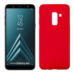 Funda TPU Mate Lisa Samsung Galaxy A6+ Silicona Flexible Rojo