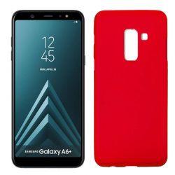 Funda TPU Mate Lisa Samsung Galaxy A6+ Silicona Flexible Rojo