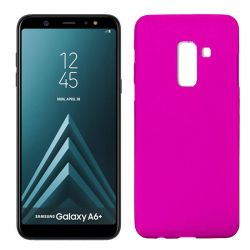 Funda TPU Mate Lisa Samsung Galaxy A6 Plus Silicona Flexible Rosa