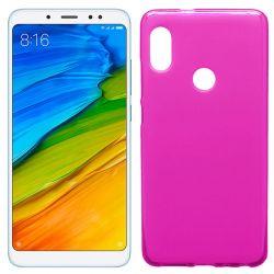 Funda de TPU Mate Lisa para Xiaomi Redmi Note 5 Pro Silicona Rosa