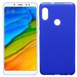 Funda de TPU Mate Lisa para Xiaomi Redmi Note 5 Pro Silicona Azul