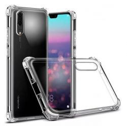 Funda Transparente Silicona con esquinas reforzadas - Huawei P20 Pro