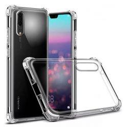 Funda Transparente de Silicona con esquinas reforzadas - Huawei P20